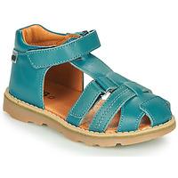 Shoes Boy Sandals GBB MITRI Blue