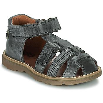 Shoes Boy Sandals GBB SEVILLOU Grey