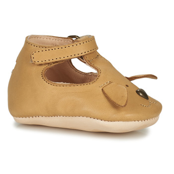 Shoes Children Slippers Easy Peasy LOULOU CHIEN Brown