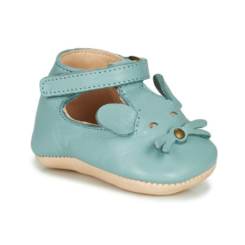 Shoes Children Slippers Easy Peasy LOULOU MOUSE Blue