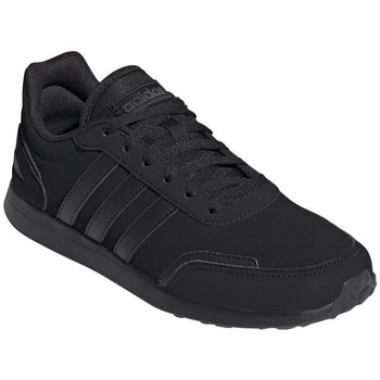 Shoes Children Low top trainers adidas Originals VS Switch Black