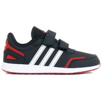 Shoes Children Low top trainers adidas Originals VS Switch 3 C White,Black,Red