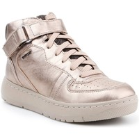 Shoes Women Hi top trainers Geox D Nimat Golden