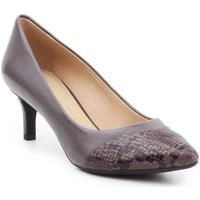 Shoes Women Heels Geox D Elina D Brown