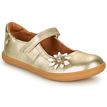 Shoes Girl Flat shoes GBB FANETTA Gold