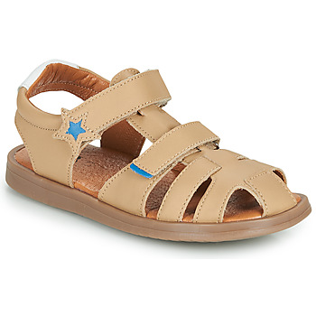 Shoes Boy Sandals GBB MARINO Beige