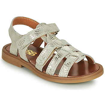 Shoes Girl Sandals GBB KATAGAMI Beige / Gold