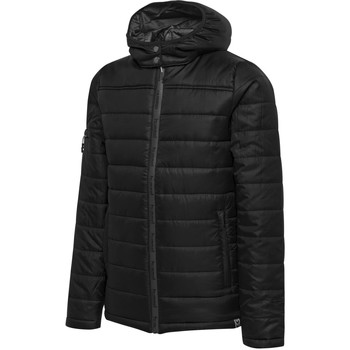 Clothing Children Duffel coats Hummel Parka enfant   North Quilted noir/gris anthracite
