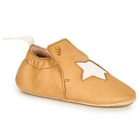 Shoes Children Slippers Easy Peasy BLUBLU ETOILE Cognac