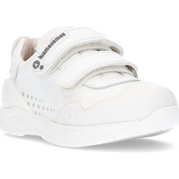 Shoes Children Low top trainers Biomecanics ANDY shoes WHITE