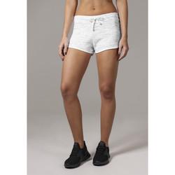 Clothing Women Shorts / Bermudas Urban Classics Short femme Urban Classic space hot blanc/noir/blanc