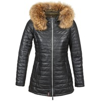 Clothing Women Duffel coats Oakwood POPPY Black