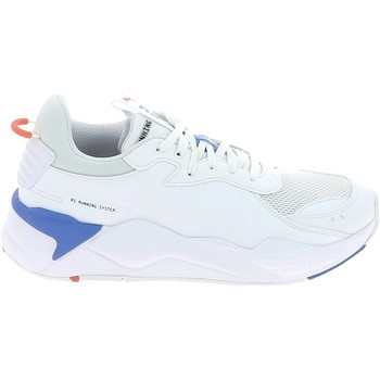 Shoes Men Low top trainers Puma RS-X Master Blanc Bleu Blanc