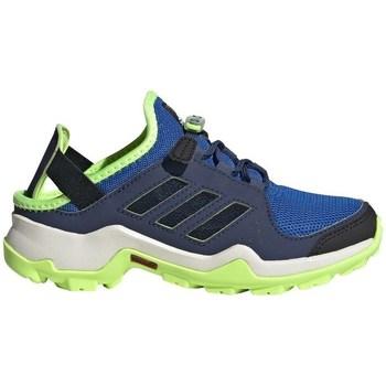 Shoes Children Low top trainers adidas Originals Terrex Hydroterra Green,Blue,Navy blue