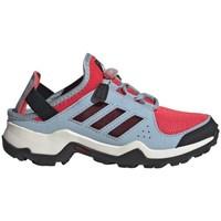 Shoes Children Low top trainers adidas Originals Terrex Hydroterra Red,Blue