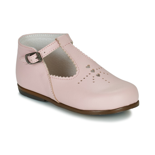 Shoes Girl Flat shoes Little Mary FLORIANE Pink
