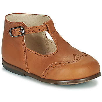 Shoes Girl Flat shoes Little Mary FRANCOIS Brown
