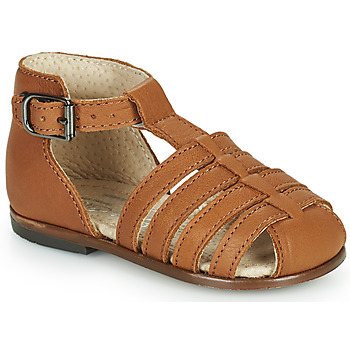 Shoes Girl Sandals Little Mary JULES Brown