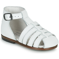 Shoes Girl Sandals Little Mary JULES White