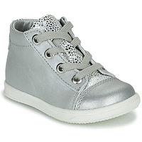 Shoes Girl Hi top trainers Little Mary VITAMINE Silver