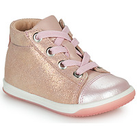 Shoes Girl Hi top trainers Little Mary VITAMINE Pink