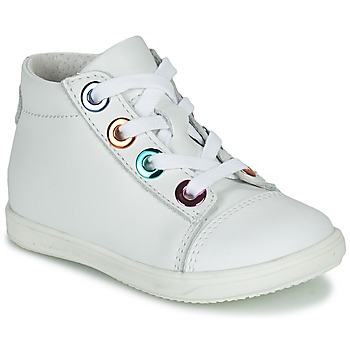 Shoes Girl Hi top trainers Little Mary VITAMINE White