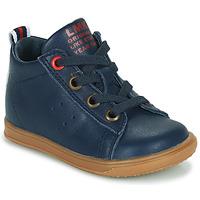Shoes Boy Hi top trainers Little Mary LEON Blue