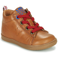 Shoes Boy Hi top trainers Little Mary LEON Brown