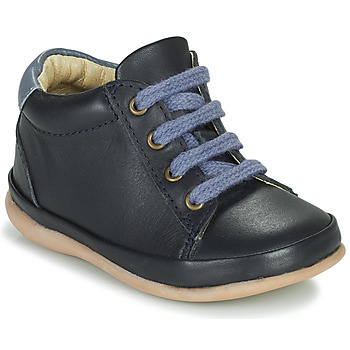 Shoes Girl Hi top trainers Little Mary GAMBARDE Blue
