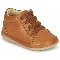 Shoes Girl Hi top trainers Little Mary GAMBARDE Brown