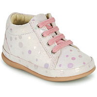 Shoes Girl Hi top trainers Little Mary GAMBARDE Pink