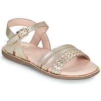 Shoes Girl Sandals Little Mary LIME Gold