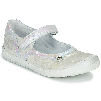 Shoes Girl Flat shoes Little Mary BRILLANTE Ecru