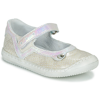 Shoes Girl Flat shoes Little Mary BRILLANTE Ecru