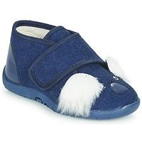Shoes Children Slippers Little Mary KOALAVELCRO Blue