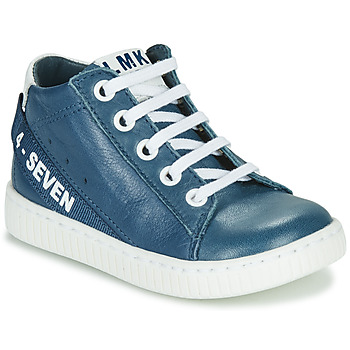 Shoes Boy Hi top trainers Little Mary LUCKY Blue