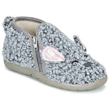 Shoes Children Slippers Little Mary LAPINZIP Grey