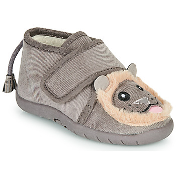 Shoes Children Slippers Little Mary LIONVELCRO Grey