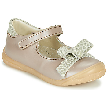 Shoes Girl Flat shoes Little Mary LUDMILA Taupe
