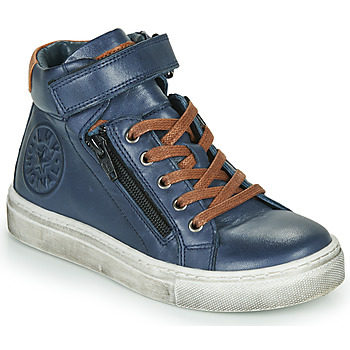 Shoes Boy Hi top trainers Little Mary FIRST Blue