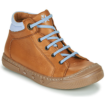 Shoes Boy Hi top trainers Little Mary JOEY Cognac