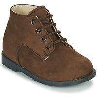 Shoes Boy Mid boots Little Mary MILOT Brown
