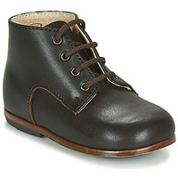 Shoes Children Mid boots Little Mary MILOTO Brown