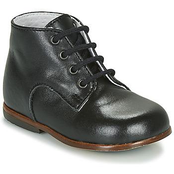 Shoes Children Mid boots Little Mary MILOTO Black