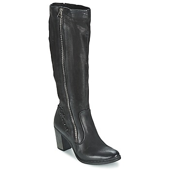 Shoes Women High boots Dream in Green KARINA Black