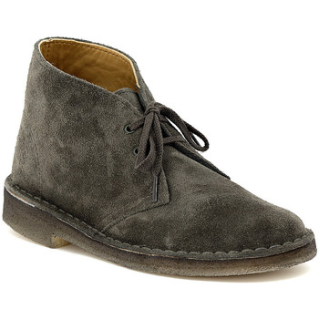 Shoes Mid boots Clarks DESERT BOOT DARK GREEN Multicolore