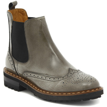 Shoes Women Mid boots Moda TRONCHETTO STILE INGLESE FUME Multicolore