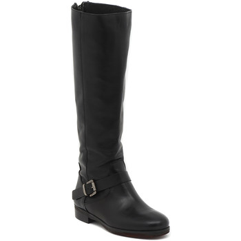 Shoes Women High boots Moda STIVALE CAVALLERIZZA PUNTA TONDA NERO Multicolore
