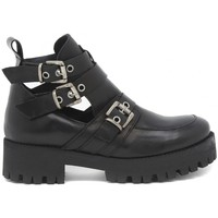 Shoes Women Mid boots Moda PUNK FIBBIE TACCO CARRARMATO Multicolore
