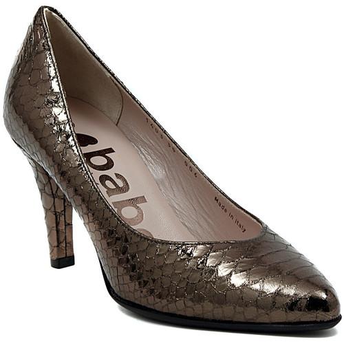 Shoes Women Heels Le Babe DECOLTE STAMPATO ACCIAIO    104,1